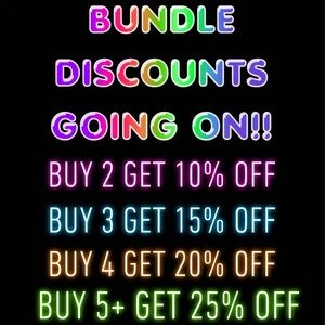 💕BUNDLE & SAVE💕